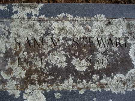 STEWART, SAM M. - Washington County, Arkansas | SAM M. STEWART - Arkansas Gravestone Photos