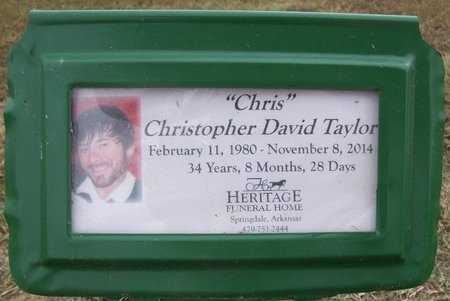 "TAYLOR, CHRISTOPHER DAVID ""CHRIS"" - Washington County, Arkansas | CHRISTOPHER DAVID ""CHRIS"" TAYLOR - Arkansas Gravestone Photos"