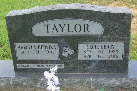 TAYLOR, CECIL HENRY - Washington County, Arkansas | CECIL HENRY TAYLOR - Arkansas Gravestone Photos