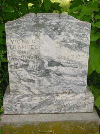 TRAMMEL, EDWARD CLINTON - Washington County, Arkansas | EDWARD CLINTON TRAMMEL - Arkansas Gravestone Photos