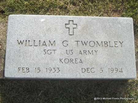TWOMBLEY (VETERAN KOR), WILLIAM G - Washington County, Arkansas | WILLIAM G TWOMBLEY (VETERAN KOR) - Arkansas Gravestone Photos
