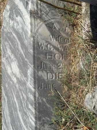 PEDEN WATTS, AMANDA F - Washington County, Arkansas | AMANDA F PEDEN WATTS - Arkansas Gravestone Photos