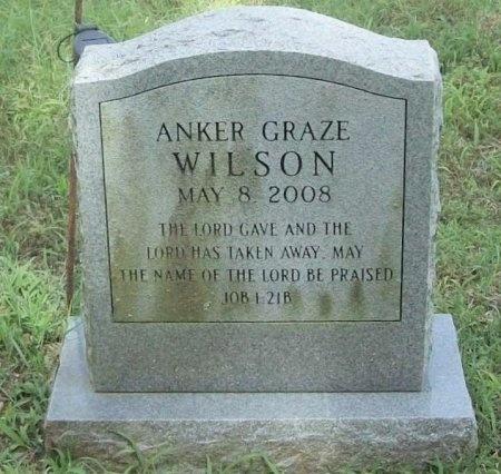 WILSON, ANKER GRAZE - Washington County, Arkansas | ANKER GRAZE WILSON - Arkansas Gravestone Photos