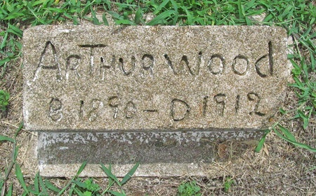 WOOD, ARTHUR - Washington County, Arkansas   ARTHUR WOOD - Arkansas Gravestone Photos