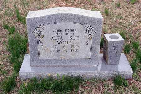 WOOD, ALTA SUE - Washington County, Arkansas | ALTA SUE WOOD - Arkansas Gravestone Photos