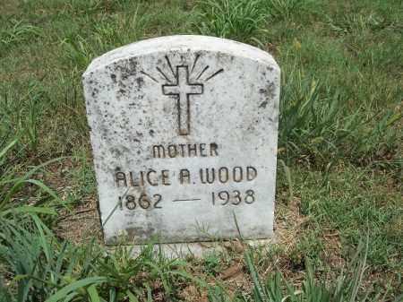 WOOD, ALICE A - Washington County, Arkansas | ALICE A WOOD - Arkansas Gravestone Photos