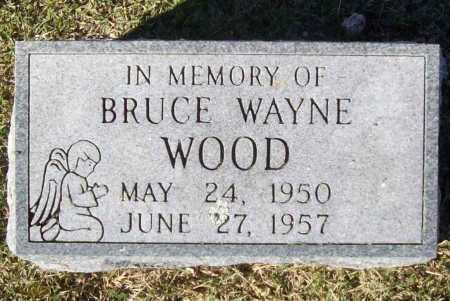 WOOD, BRUCE WAYNE - Washington County, Arkansas | BRUCE WAYNE WOOD - Arkansas Gravestone Photos