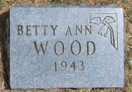 WOOD, BETTY ANN - Washington County, Arkansas | BETTY ANN WOOD - Arkansas Gravestone Photos
