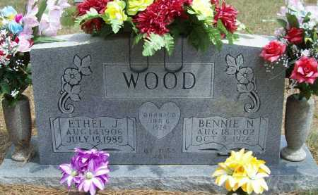 WOOD, BENNIE N - Washington County, Arkansas | BENNIE N WOOD - Arkansas Gravestone Photos