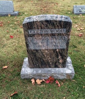 WOOD, CLIFTON - Washington County, Arkansas   CLIFTON WOOD - Arkansas Gravestone Photos