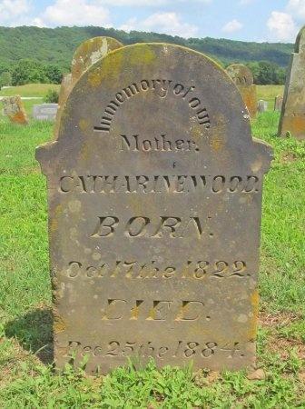 WOOD, CATHARINE - Washington County, Arkansas   CATHARINE WOOD - Arkansas Gravestone Photos