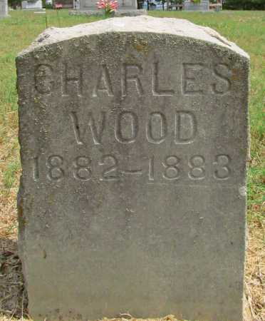 WOOD, CHARLES - Washington County, Arkansas | CHARLES WOOD - Arkansas Gravestone Photos