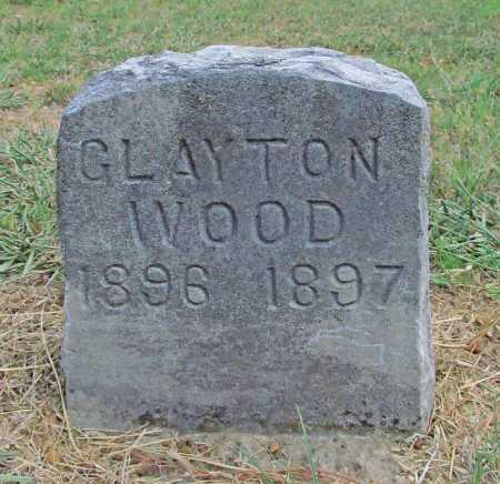 WOOD, CLAYTON - Washington County, Arkansas | CLAYTON WOOD - Arkansas Gravestone Photos