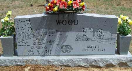 WOOD, CLAUD O - Washington County, Arkansas   CLAUD O WOOD - Arkansas Gravestone Photos