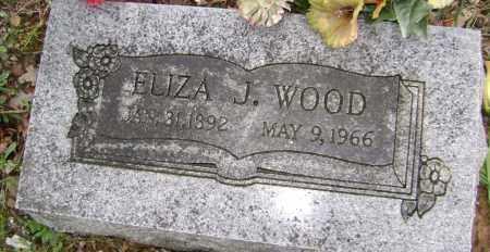 WOOD, ELIZA J - Washington County, Arkansas   ELIZA J WOOD - Arkansas Gravestone Photos