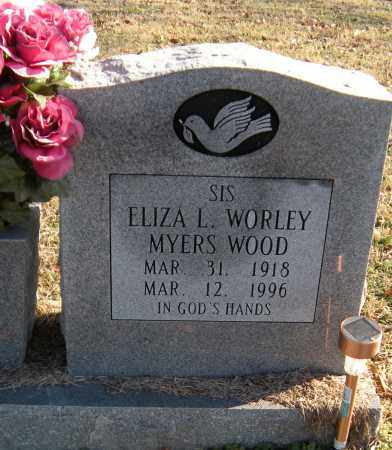 WOOD, ELIZA LUCINDA - Washington County, Arkansas | ELIZA LUCINDA WOOD - Arkansas Gravestone Photos