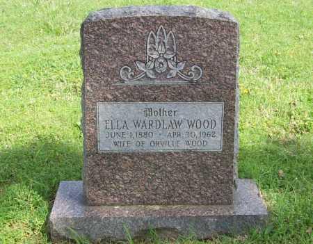 WOOD, ELLA - Washington County, Arkansas | ELLA WOOD - Arkansas Gravestone Photos