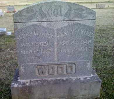 WOOD, NANCY J - Washington County, Arkansas   NANCY J WOOD - Arkansas Gravestone Photos