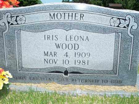 WOOD, IRIS LEONA - Washington County, Arkansas | IRIS LEONA WOOD - Arkansas Gravestone Photos