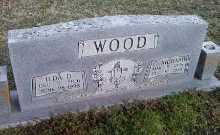 WOOD, G RICHARD - Washington County, Arkansas | G RICHARD WOOD - Arkansas Gravestone Photos