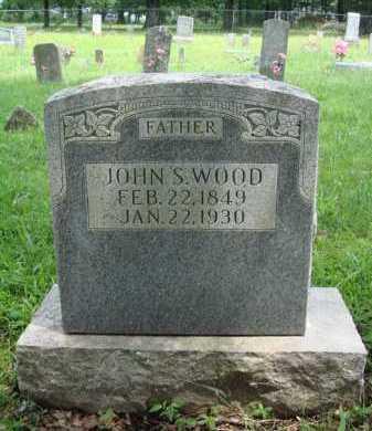 WOOD, JOHN S. - Washington County, Arkansas   JOHN S. WOOD - Arkansas Gravestone Photos