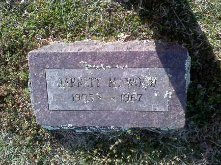WOOD, JARRETT M - Washington County, Arkansas   JARRETT M WOOD - Arkansas Gravestone Photos