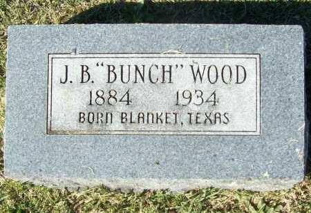 "WOOD, J B ""BUNCH"" - Washington County, Arkansas | J B ""BUNCH"" WOOD - Arkansas Gravestone Photos"