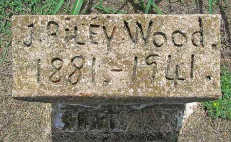 WOOD, J RILEY - Washington County, Arkansas   J RILEY WOOD - Arkansas Gravestone Photos