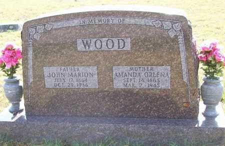 WOOD, AMANDA ORLENA - Washington County, Arkansas | AMANDA ORLENA WOOD - Arkansas Gravestone Photos