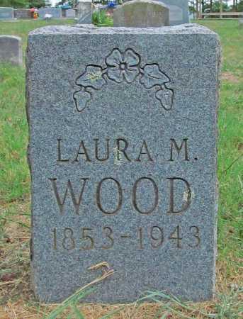 WOOD, LAURA M - Washington County, Arkansas   LAURA M WOOD - Arkansas Gravestone Photos