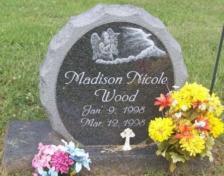 WOOD, MADISON NICOLE - Washington County, Arkansas | MADISON NICOLE WOOD - Arkansas Gravestone Photos
