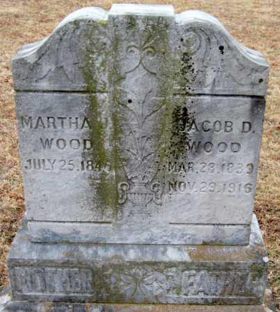 WOOD, JACOB D - Washington County, Arkansas | JACOB D WOOD - Arkansas Gravestone Photos