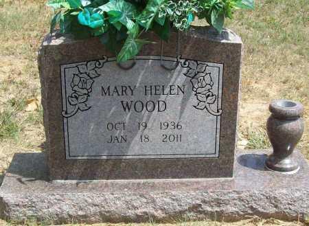 WOOD, MARY HELEN - Washington County, Arkansas | MARY HELEN WOOD - Arkansas Gravestone Photos