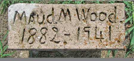 WOOD, MAUD M - Washington County, Arkansas | MAUD M WOOD - Arkansas Gravestone Photos