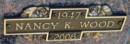 WOOD, NANCY K - Washington County, Arkansas | NANCY K WOOD - Arkansas Gravestone Photos