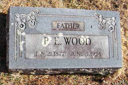 WOOD, P.E. - Washington County, Arkansas   P.E. WOOD - Arkansas Gravestone Photos