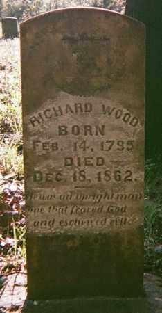 WOOD, RICHARD - Washington County, Arkansas   RICHARD WOOD - Arkansas Gravestone Photos