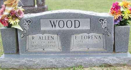 WOOD, R. ALLEN - Washington County, Arkansas | R. ALLEN WOOD - Arkansas Gravestone Photos