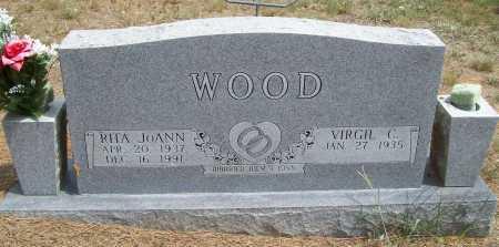 WOOD, RITA JOANN - Washington County, Arkansas   RITA JOANN WOOD - Arkansas Gravestone Photos