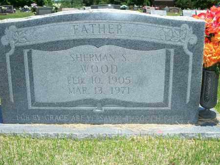 WOOD, SHERMAN S. - Washington County, Arkansas   SHERMAN S. WOOD - Arkansas Gravestone Photos