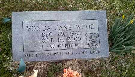 WOOD, VONDA JANE - Washington County, Arkansas | VONDA JANE WOOD - Arkansas Gravestone Photos