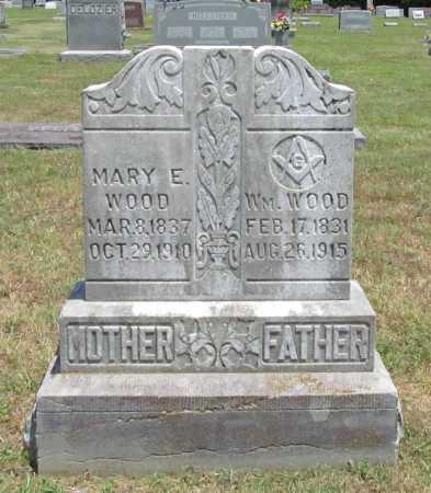 WOOD, MARY E - Washington County, Arkansas | MARY E WOOD - Arkansas Gravestone Photos