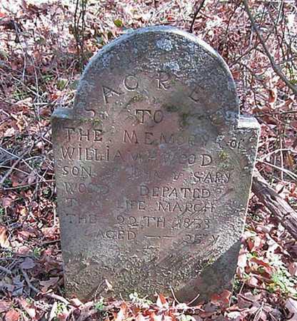 WOOD, WILLIAM H - Washington County, Arkansas   WILLIAM H WOOD - Arkansas Gravestone Photos