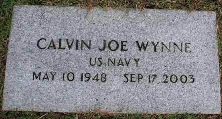 WYNNE (VETERAN), CALVIN JOE - Washington County, Arkansas   CALVIN JOE WYNNE (VETERAN) - Arkansas Gravestone Photos