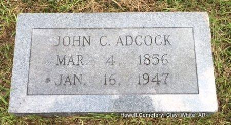 ADCOCK, JOHN C - White County, Arkansas | JOHN C ADCOCK - Arkansas Gravestone Photos