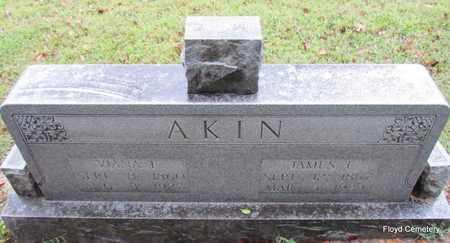 AKIN, JAMES E - White County, Arkansas | JAMES E AKIN - Arkansas Gravestone Photos