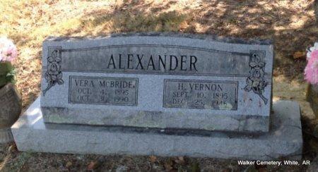 ALEXANDER, VERA CLAUDINE - White County, Arkansas   VERA CLAUDINE ALEXANDER - Arkansas Gravestone Photos