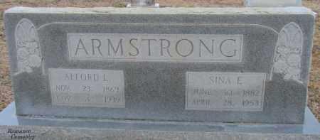 ARMSTRONG, ALFORD L - White County, Arkansas | ALFORD L ARMSTRONG - Arkansas Gravestone Photos