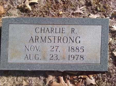 ARMSTRONG, CHARLIE R - White County, Arkansas   CHARLIE R ARMSTRONG - Arkansas Gravestone Photos