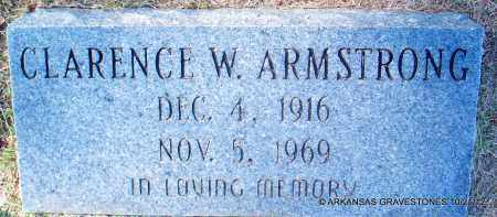 ARMSTRONG, CLARENCE W - White County, Arkansas | CLARENCE W ARMSTRONG - Arkansas Gravestone Photos